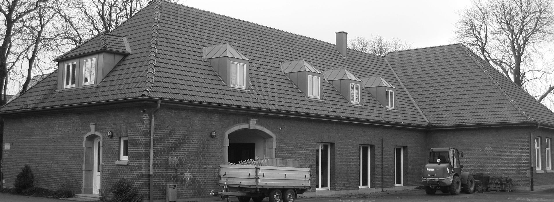 Gesundheitszentrum LUDGERUSHOF - Aussenansicht Grundschule